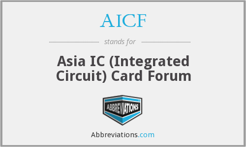 AICF - Asia IC (Integrated Circuit) Card Forum