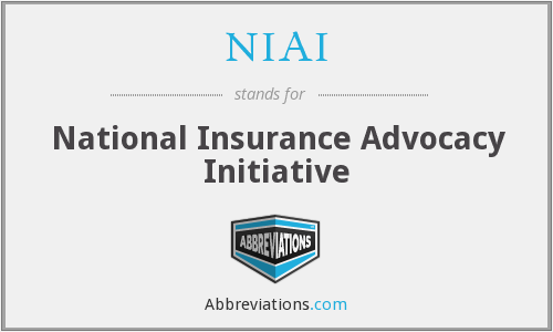 NIAI - National Insurance Advocacy Initiative