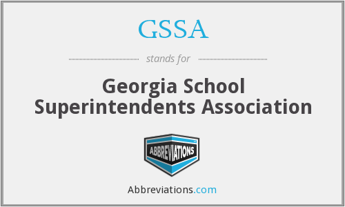 GSSA - Georgia School Superintendents Association