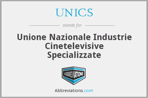 What does UNICS stand for?