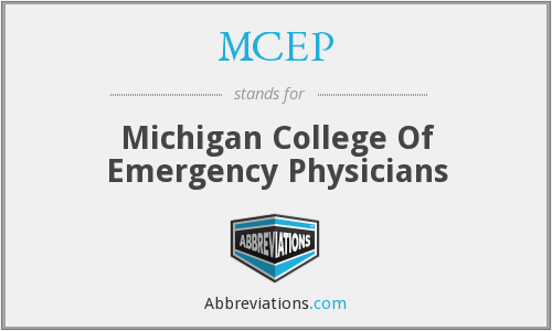 What does MCEP stand for?
