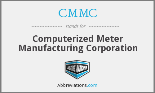 CMMC - Computerized Meter Manufacturing Corporation