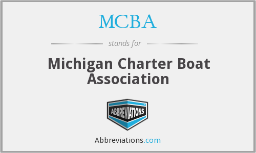 MCBA - Michigan Charter Boat Association