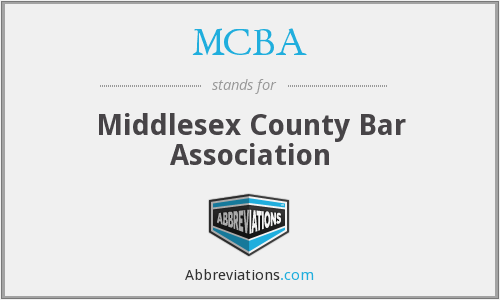MCBA - Middlesex County Bar Association