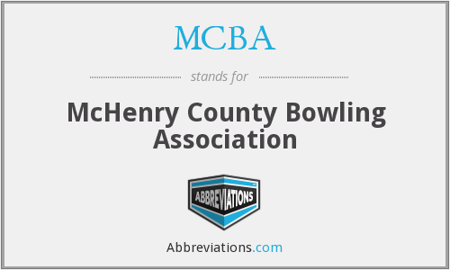 MCBA - McHenry County Bowling Association