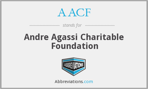 AACF - Andre Agassi Charitable Foundation