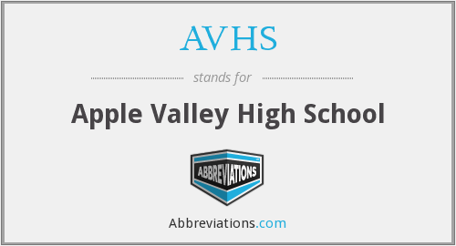 AVHS - Apple Valley High School