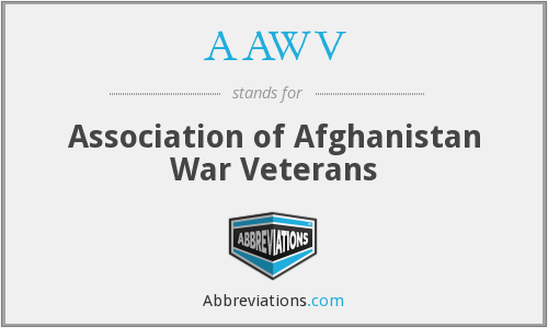 AAWV - Association of Afghanistan War Veterans