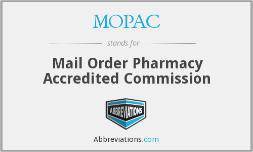 MOPAC - Mail Order Pharmacy Accredited Commission
