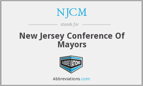 NJCM - New Jersey Conference Of Mayors
