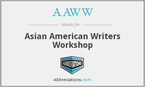 AAWW - Asian American Writers Workshop