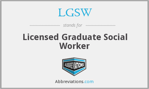 What does LGSW stand for?