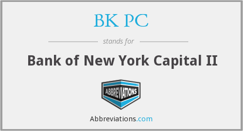 What does BK PC stand for?