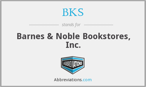 BKS - Barnes & Noble Bookstores, Inc.