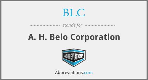 BLC - A. H. Belo Corporation