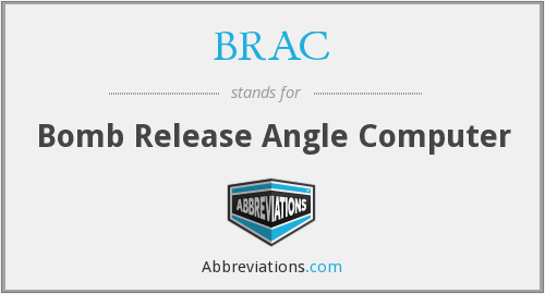 BRAC - Bomb Release Angle Computer