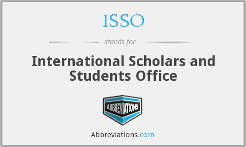 ISSO - International Scholars and Students Office