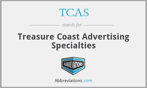 TCAS - Treasure Coast Advertising Specialties