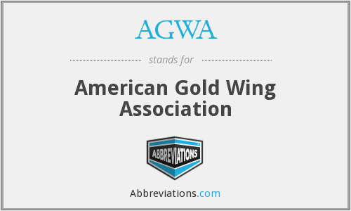 AGWA - American Gold Wing Association