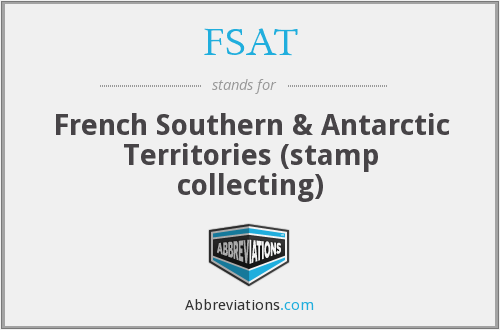 FSAT - French Southern & Antarctic Territories (stamp collecting)