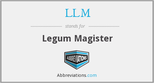 LLM - Legum Magister