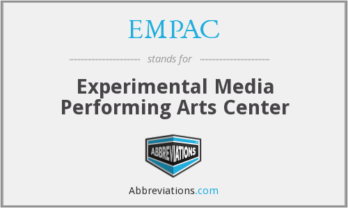 EMPAC - Experimental Media Performing Arts Center