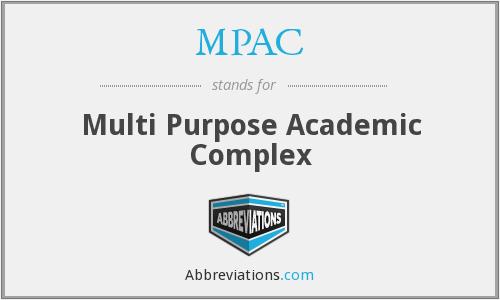 MPAC - Multi Purpose Academic Complex