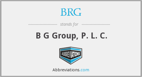 BRG - B G Group, P. L. C.