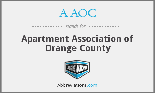 What does AAOC stand for?