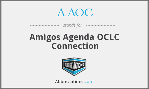 AAOC - Amigos Agenda OCLC Connection