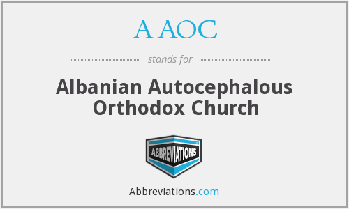 AAOC - Albanian Autocephalous Orthodox Church