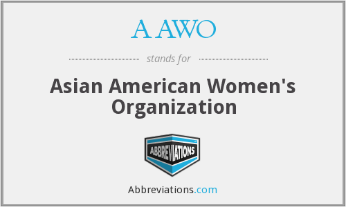 AAWO - Asian American Women's Organization