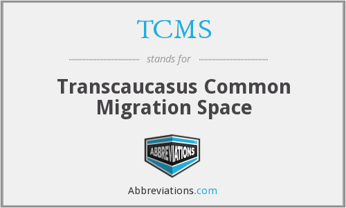 TCMS - Transcaucasus Common Migration Space