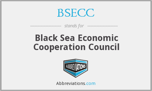 BSECC - Black Sea Economic Cooperation Council