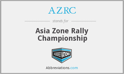 AZRC - Asia Zone Rally Championship
