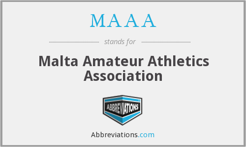 MAAA - Malta Amateur Athletics Association