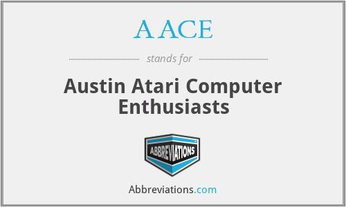 AACE - Austin Atari Computer Enthusiasts