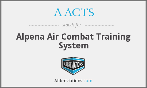 AACTS - Alpena Air Combat Training System