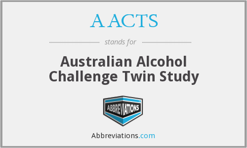 AACTS - Australian Alcohol Challenge Twin Study