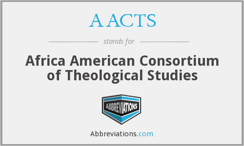 AACTS - Africa American Consortium of Theological Studies