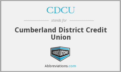 CDCU - Cumberland District Credit Union