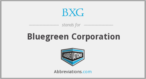 What does BXG stand for?