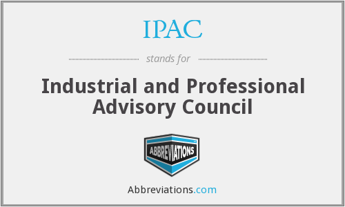 IPAC - Industrial and Professional Advisory Council