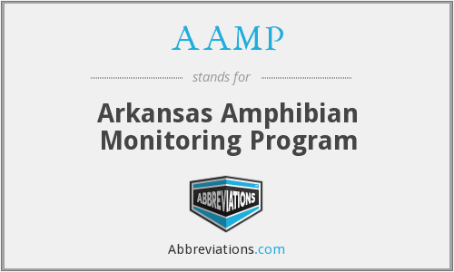 AAMP - Arkansas Amphibian Monitoring Program