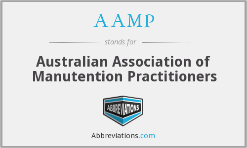 AAMP - Australian Association of Manutention Practitioners