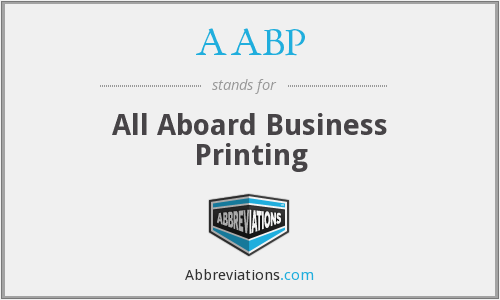 AABP - All Aboard Business Printing