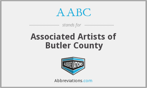 AABC - Associated Artists of Butler County