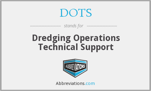 DOTS - Dredging Operations Technical Support