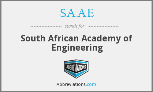 What does SAAE stand for?