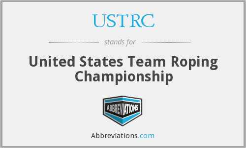 What does USTRC stand for?